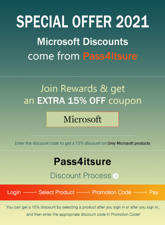 Pass4itsure Microsoft MB-300 discount code 2021